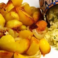 Smażone ziemniaki z cebulą