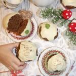 Piernikowe muffinki z miodem – świąteczne muffiny