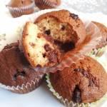 Muffiny z kawałkami czekolady z chili