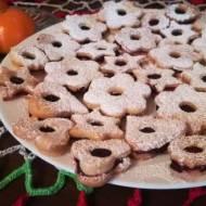 Tradycyjne ciastka z dżemem-pyszne i kruche