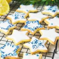 Kruche świąteczne ciasteczka cytrynowe