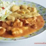 Gulasz pomidorowo-paprykowy z kurczaka