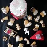 Pierniczki z miodem (bez cukru)