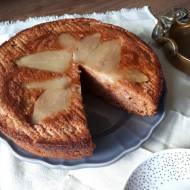 Włoskie ciasto gruszkowe