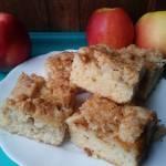 Ciasto z jabłkiem i kokosową kruszonką