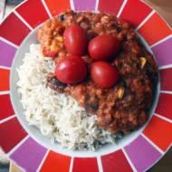 Chili sin carne z soczewicą