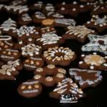 Kruche ciasteczka kakaowe z cukrem trzcinowym