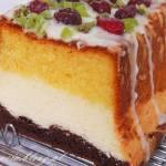 Trzy kolory, włoskie ciasto