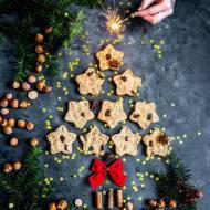 Owsiane ciasteczka orzechowo-piernikowe (bez cukru)