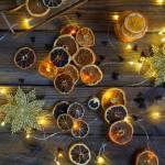 Suszone pomarańcze, cytryny, mandarynki i limonki