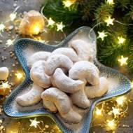 Kourabiedes - kruche ciasteczka z migdałami
