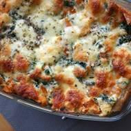 Lasagne z dynią i serem ricotta