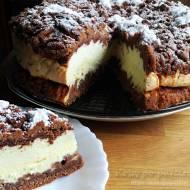 Ciasto piernikowe z serem i pianką