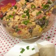 Salatka meksykańska z kurczakiem