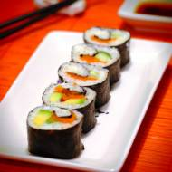 """Sushi z kalafiora, czyli… """"kalafioshi"""" (Paleo, Keto, LowCarb, AIP)"""