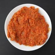 Ryba po grecku (w pomidorach z warzywami)