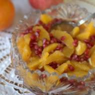 Sałatka z pomarańczy z imbirem i cynamonem
