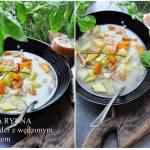 Zupa z łososiem i ziemniakami