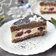 Noworoczny tort makowy