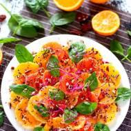 Sałatka pomarańczowa - bomba witaminowa