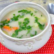 Zupa grysikowa z ziemniakami + film