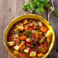 Zupa z soczewicy z chorizo – Lentejas. Krok po kroku.