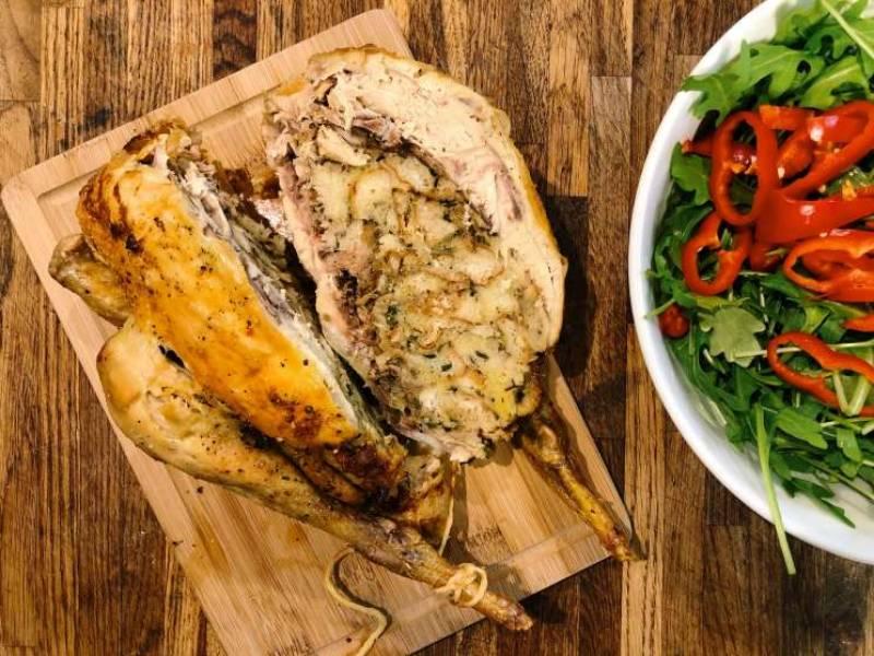 Przepis Na Niedzielny Obiad Kurczak Faszerowany Chlebem