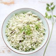 Ryż z kalafiora - fit obiad