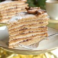 Tort Miodowa Stefanka