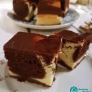 Sernik kakaowy według przepisu babci