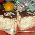 pyszny sernik z ziemniakiem,brzoskwiniami na biszkoptach pieczony...