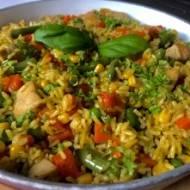 Indyk z ryżem i warzywami – pyszny obiad w 30 minut!