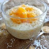 Kokosowo-pomarańczowy pudding z tapioki