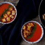 Krem pomidorowy z papryką