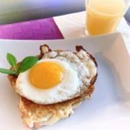 Francuskie tosty z jajkiem