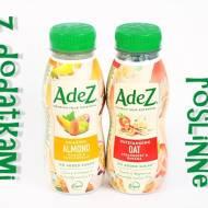 Napój owsiany i napój migdałowy z sokami owocowymi - AdeZ