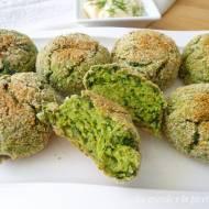 Pieczone pulpeciki ze szpinakiem i ricottą (Polpettine al forno con spinaci e ricotta)