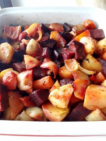 Warzywa pieczone na ostro