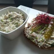 Pasta z makreli - fit przepis