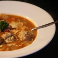 Zupa a'la gołąbki