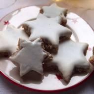 Migdałowe gwiazdki z glazurą (bez glutenu i laktozy)