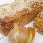 Chleb pytlowy z dodatkiem mąki pszennej z cebulką