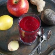 Koktajl: burak, jabłko, imbir (dieta dr Dąbrowskiej)