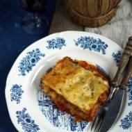 Lasagne pomidorowo-mięsna