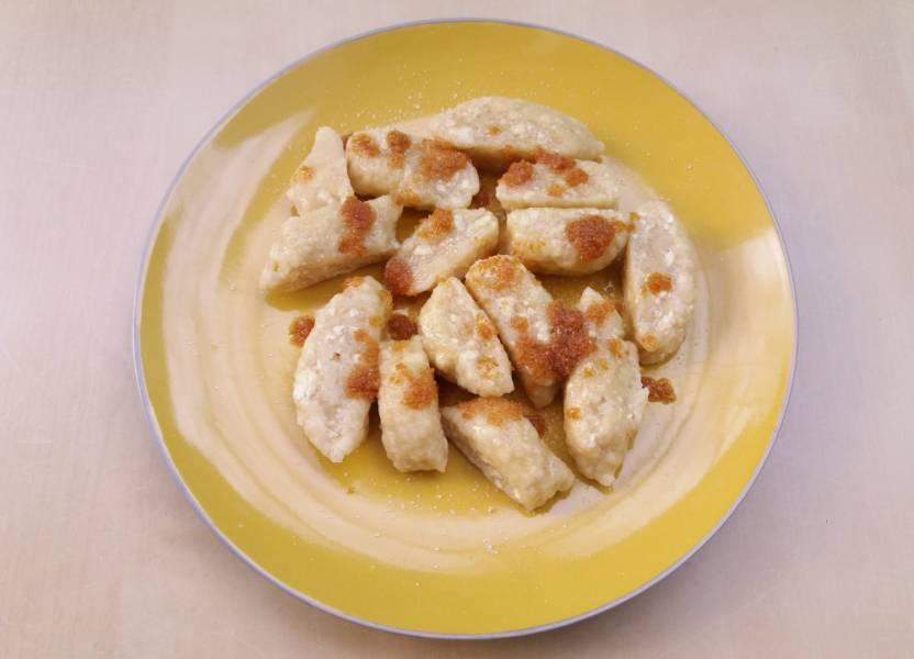 Leniwe kluski z tofu