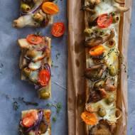 Zapiekanki z boczniakami i mozzarellą! Jak zrobić domową zapiekankę?
