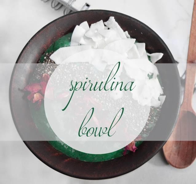 spirulina bowl