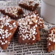 Kruche ciasteczka kakaowe z cukrem