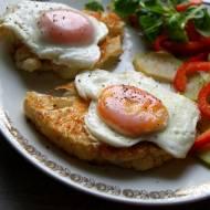 Steki z kalafiora z sadzonym jajkiem