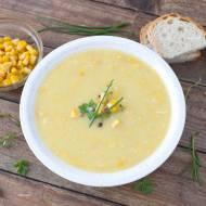 Meksykańska zupa z kukurydzy